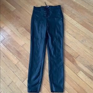 Faux leather leggings. Worn once